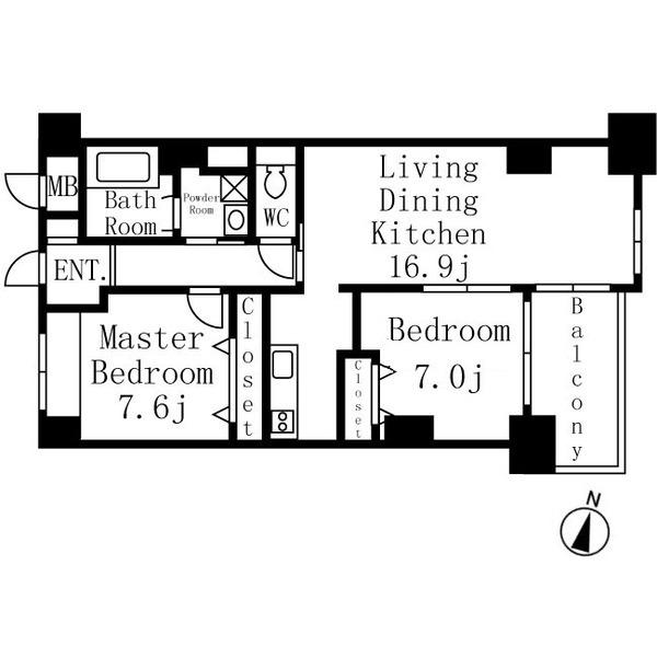 イーグルヘッド橦木 10階