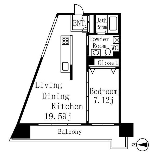 レジディア東桜Ⅱ 8階