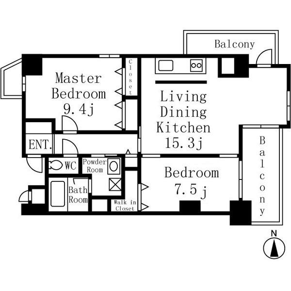 イーグルヘッド橦木 5階