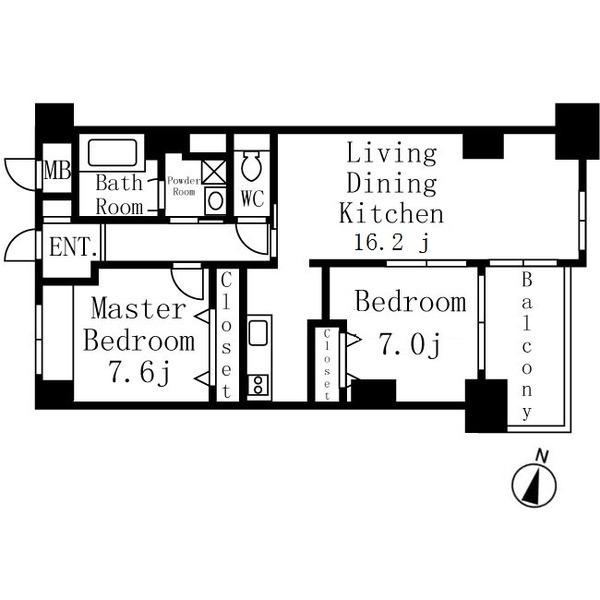 イーグルヘッド橦木 6階