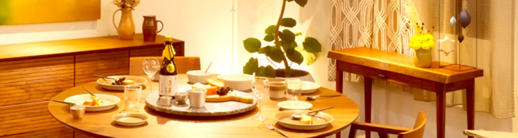 価値ある空間は、<br /> 上質な家具が創り出します。